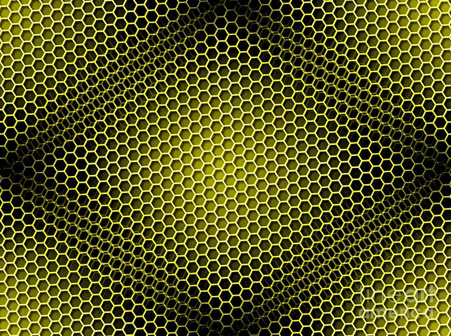 Honeycomb Background S...
