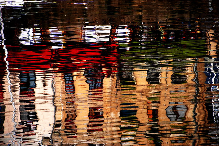 Abstracts Photograph - Honfleur Abstract by Jacqueline M Lewis