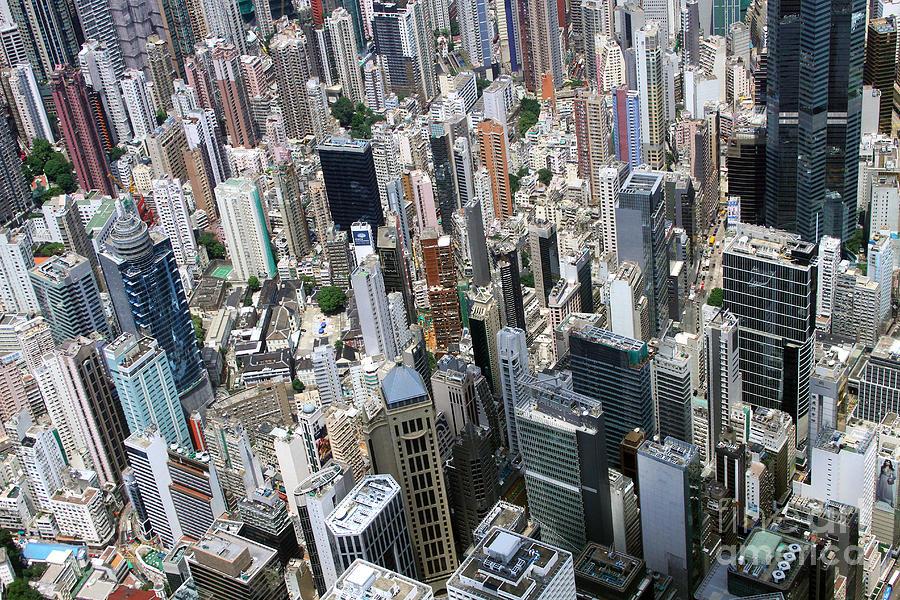 Hong Kong Photograph - Hong Kongs Density by Lars Ruecker