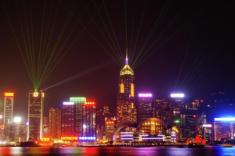 Hongkong A Symphony Of Lights Photograph by @hapidayss