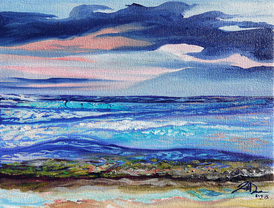 Maui Painting - Honokowai Beach by Joseph Demaree