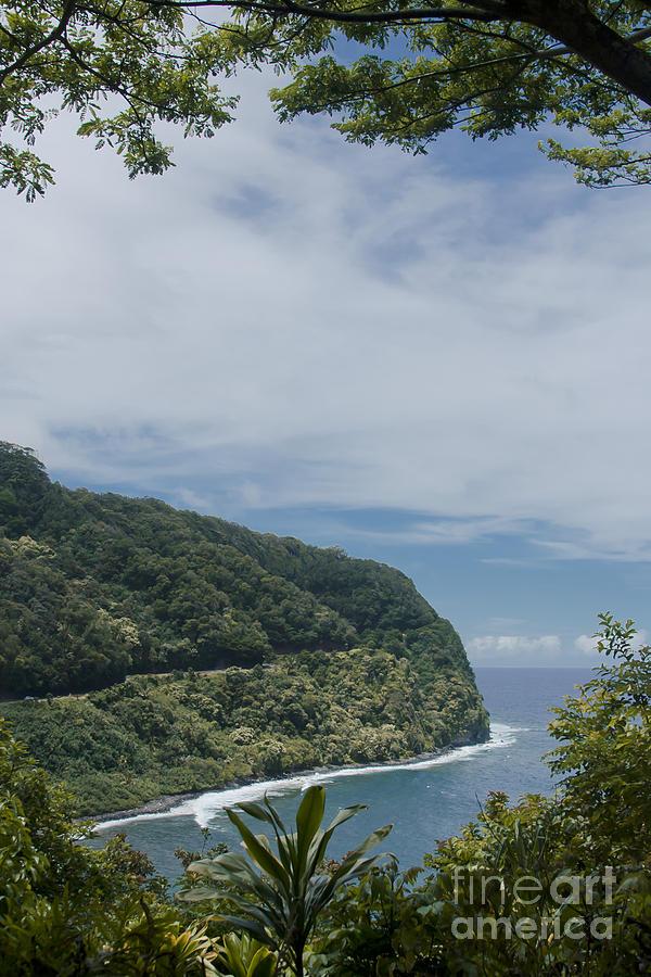 Aloha Photograph - Honomanu - Highway To Heaven - Road To Hana Maui Hawaii by Sharon Mau
