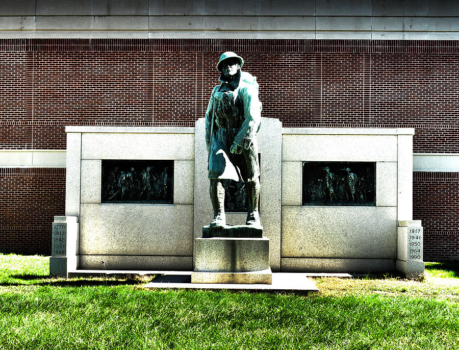 Doughboy Photograph - Honor Our Country by Tor  Johannessen