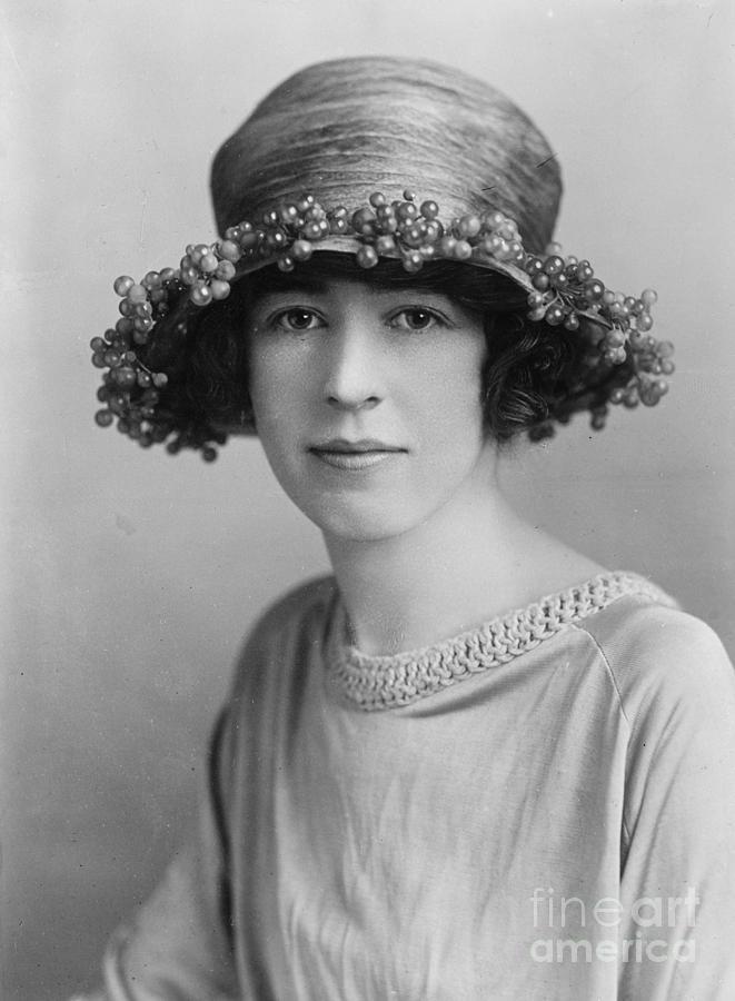 Vintage Portraits Photograph - Honorable Alexandra Bertie C1900 by Padre Art