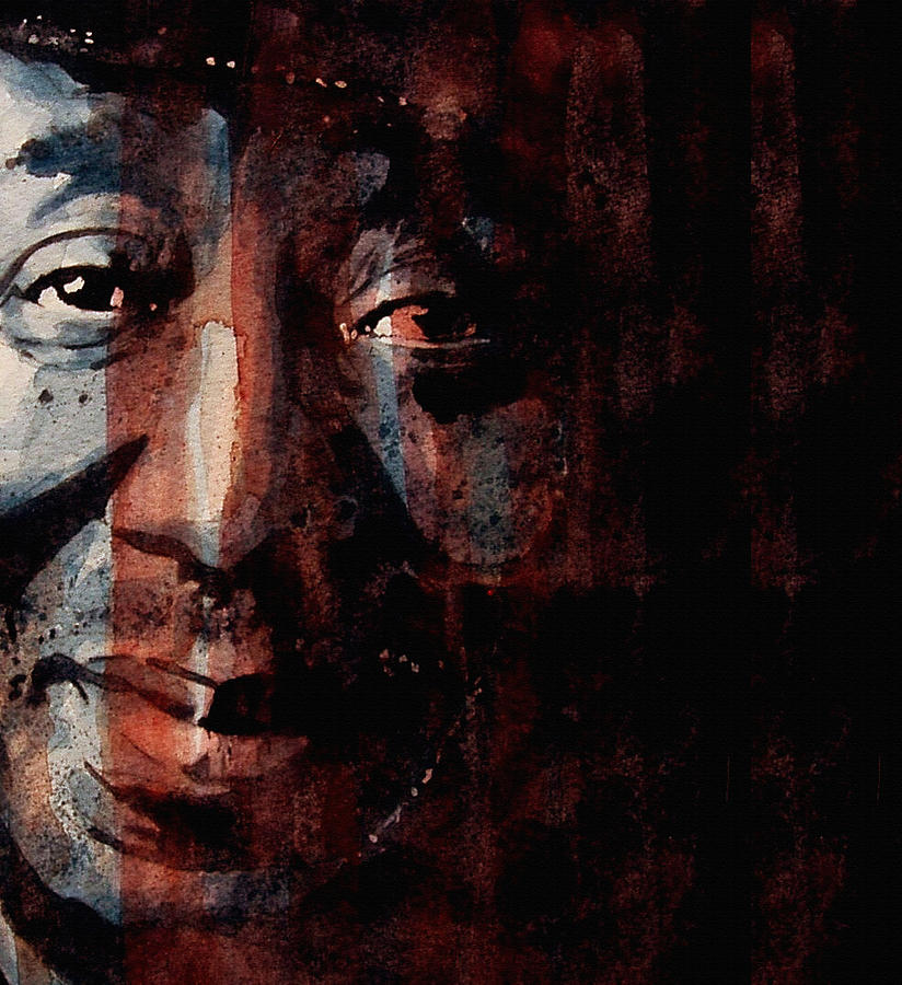 Muddy Waters Painting - Hoochie Coochie Man by Paul Lovering