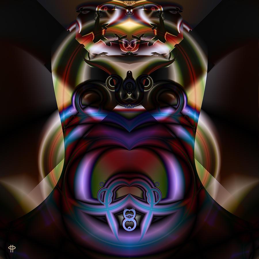 Fine Digital Art - Hooded Cobra by Jim Pavelle