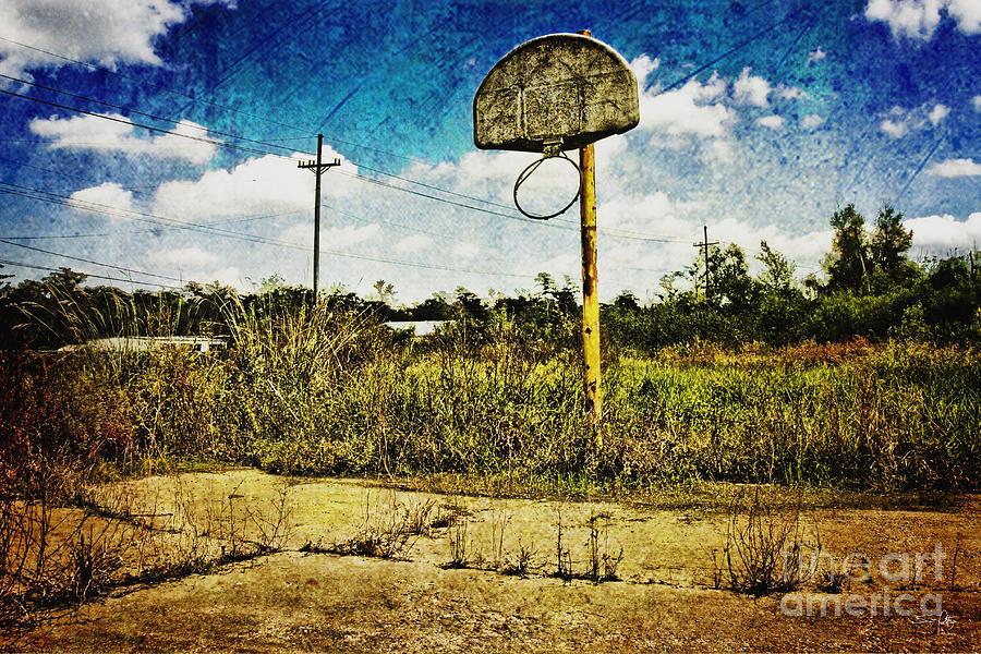 Basketball Photograph - Hoop Dreams by Scott Pellegrin