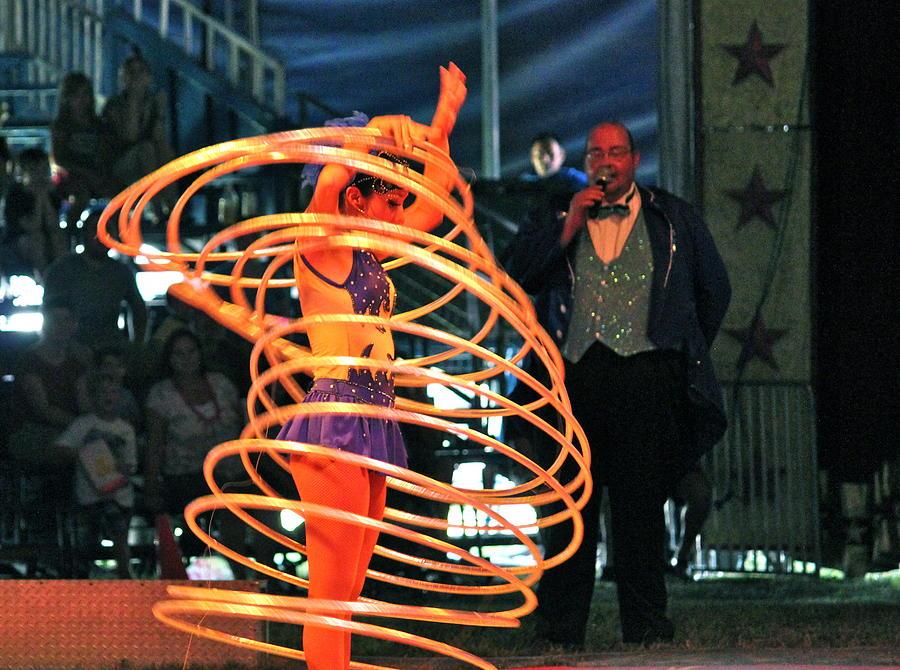 Circus Photograph - Hoop Master by Amanda Just