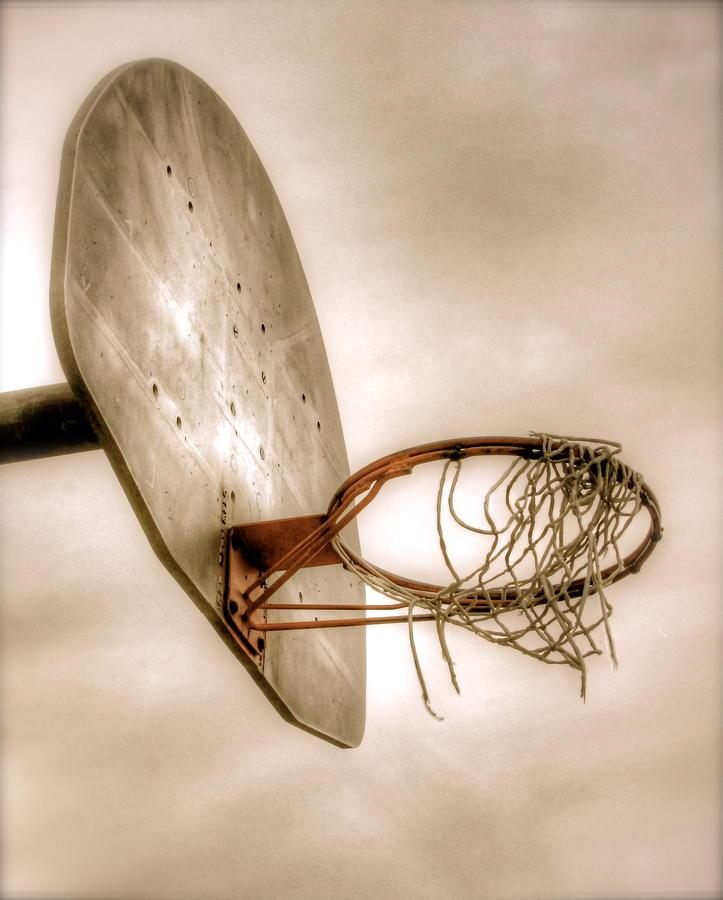 Basketball Photograph - Hoop by Steve Ratliff