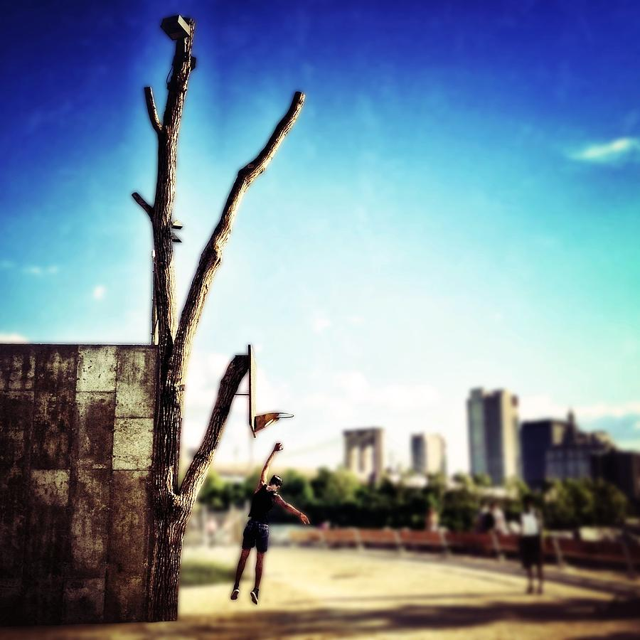 Basketball Photograph - Hoopin by Natasha Marco