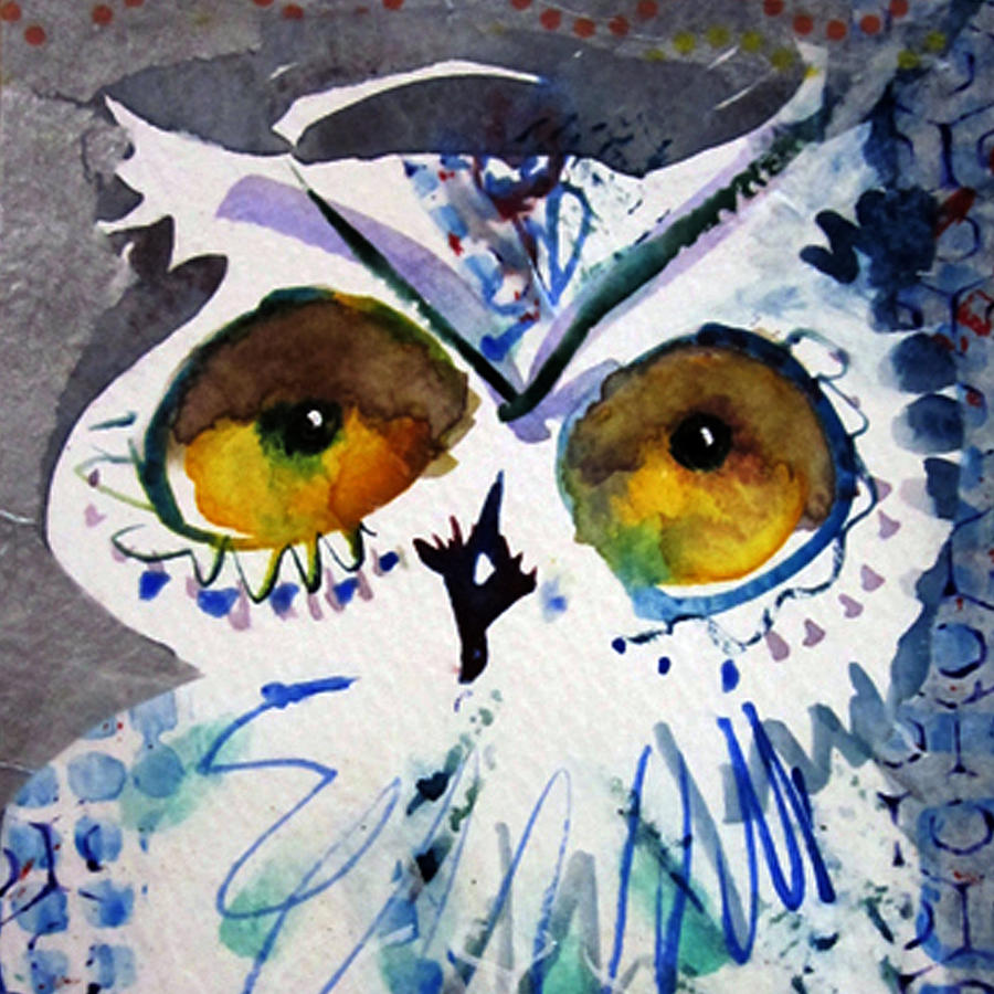 Hoot Cropped by Laurel Bahe