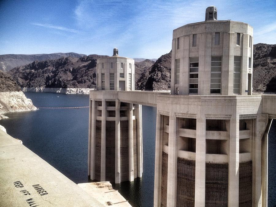 Landscape Photograph - Hoover Dam by Derek Conley