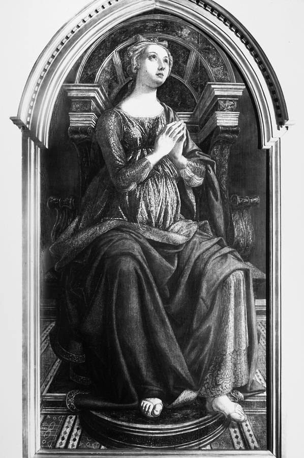 15th Century Painting - Hope, 15th Century by Granger