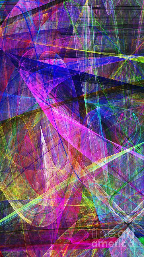 Fractal Digital Art - Hope 20130511v3 by Wingsdomain Art and Photography