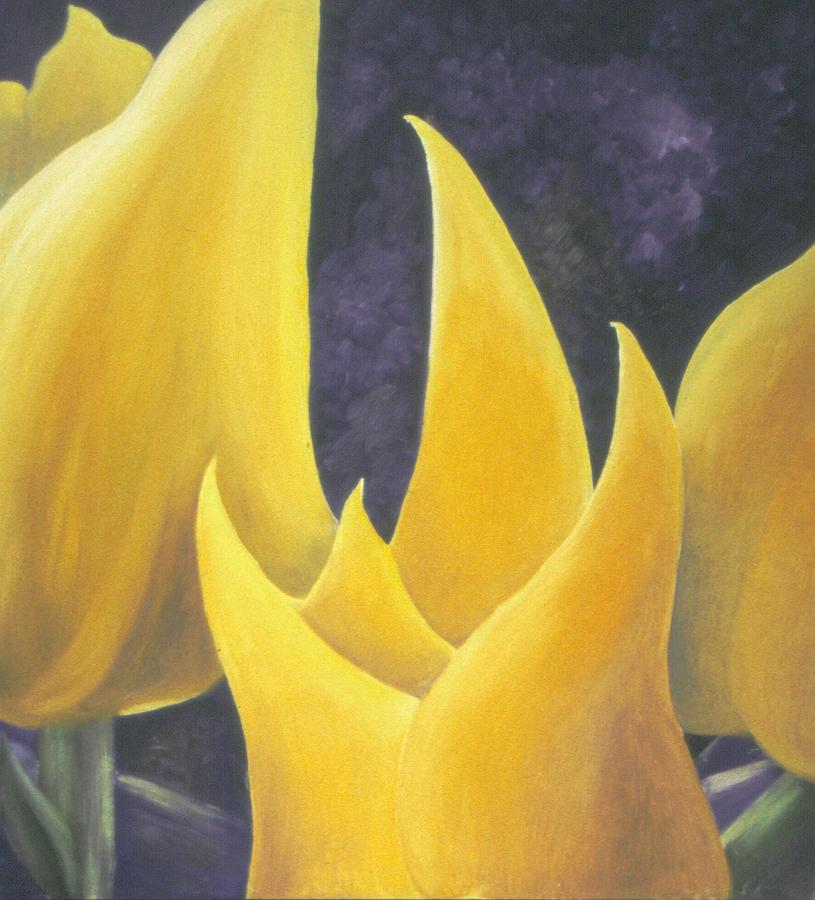 Tulips Painting - Hope by Ingela Christina Rahm