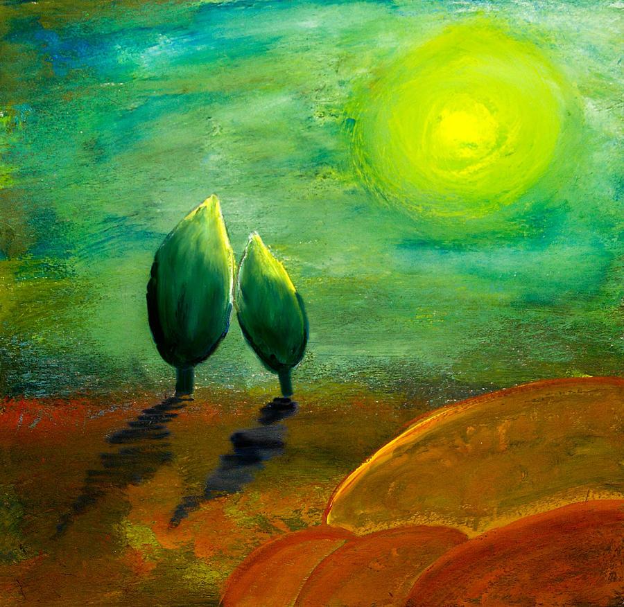 Hope Painting By Nirdesha Munasinghe