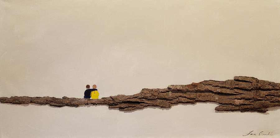 People Painting - Hope by Tara Arnold