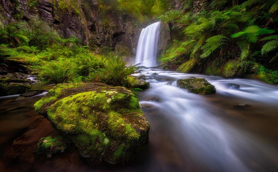 Hopetoun Falls Photograph - Hopetoun Falls by Lincoln Harrison