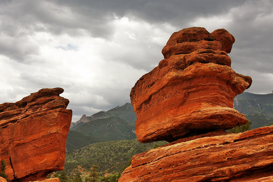 Manitou Photograph - Hoping For Rain - Garden Of The Gods Colorado by Christine Till