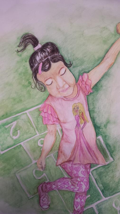 Hopscotch Painting