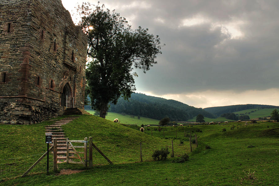 Hopton Castle by Sarah Broadmeadow-Thomas