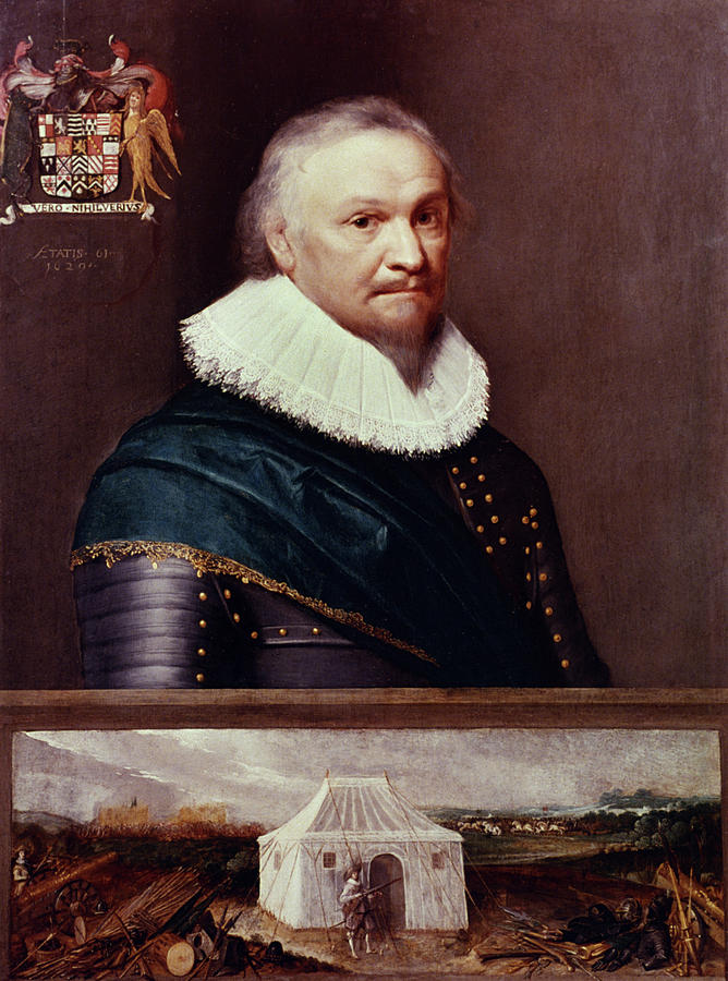 1629 Painting - Horace Vere (1565-1635) by Granger