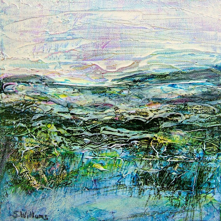 Painting Painting - Horizon Id# C-0820 by Shirley Williams
