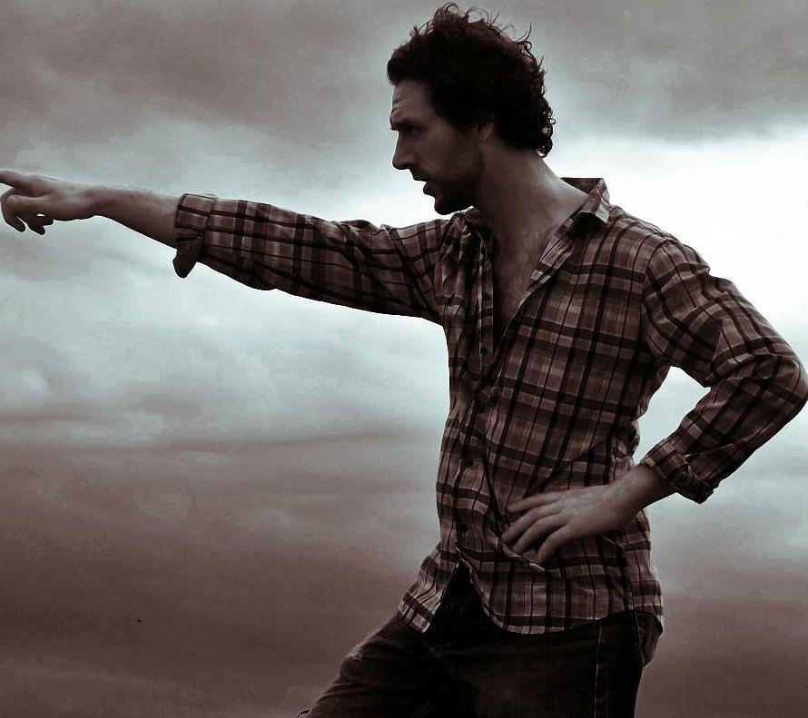 Male Model Photograph - Horizon by Samantha Radermacher