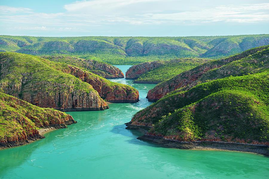 Horizontal Falls, Kimberley, Australia Photograph by Laurenepbath