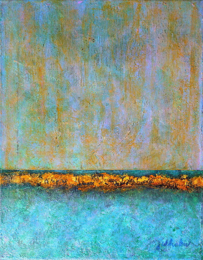 Horizontal Reef Painting