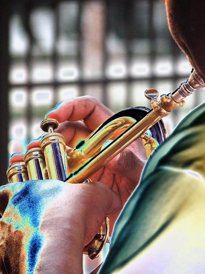 Horn Player S 0071 Photograph
