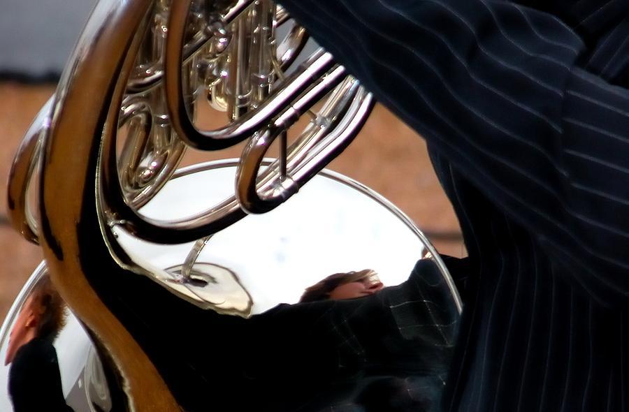 Horn Reflections 7053 Photograph