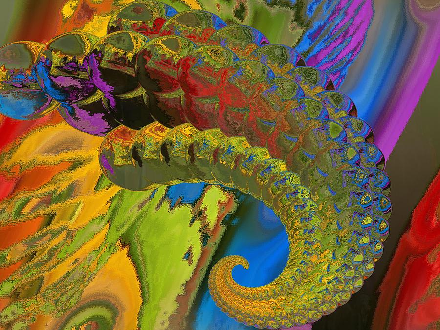 Horn Digital Art - Horn by Soumya Bouchachi