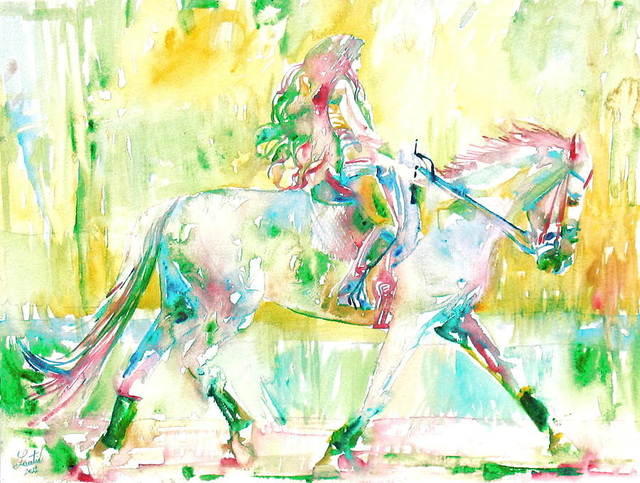 Horse Painting - Horse Painting.19 by Fabrizio Cassetta