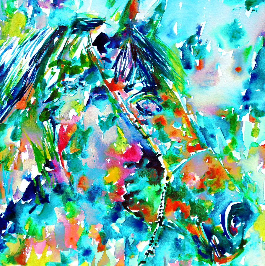 Horse Painting - Horse Painting.30 by Fabrizio Cassetta