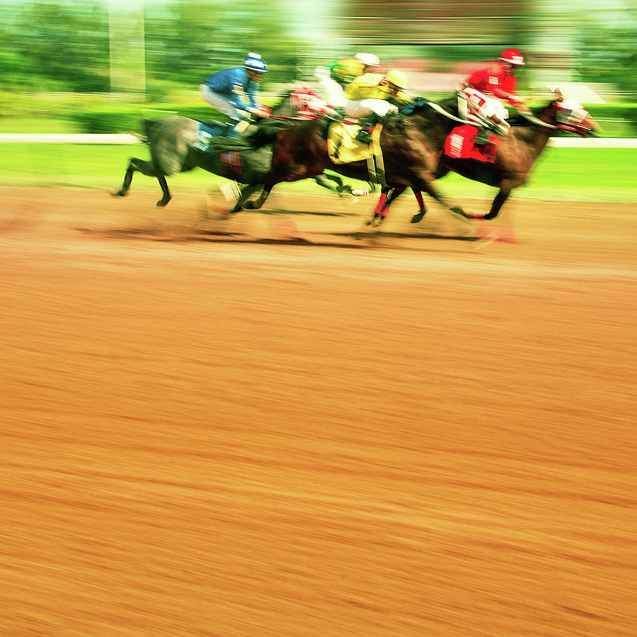 Horse Racing Photograph by Thepalmer