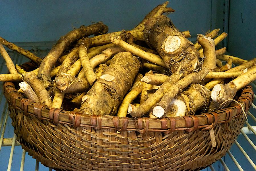 Horseradish Photograph - Horseradish by Tom Giske