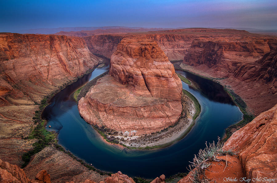 Horseshoe Bend by Sheila Kay McIntyre