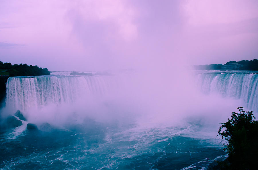 Horseshoe Falls Mist Photograph