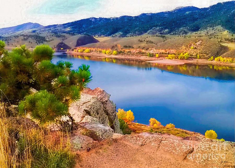 Reservoir Photograph - Horsetooth Lake Overlook by Jon Burch Photography