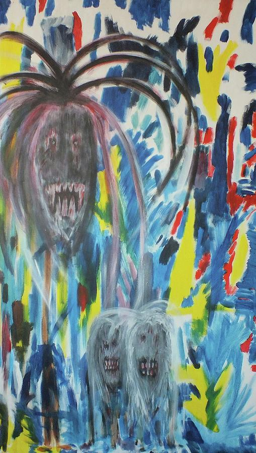 Ghosts Painting - Conflicting Minds by Randall Ciotti