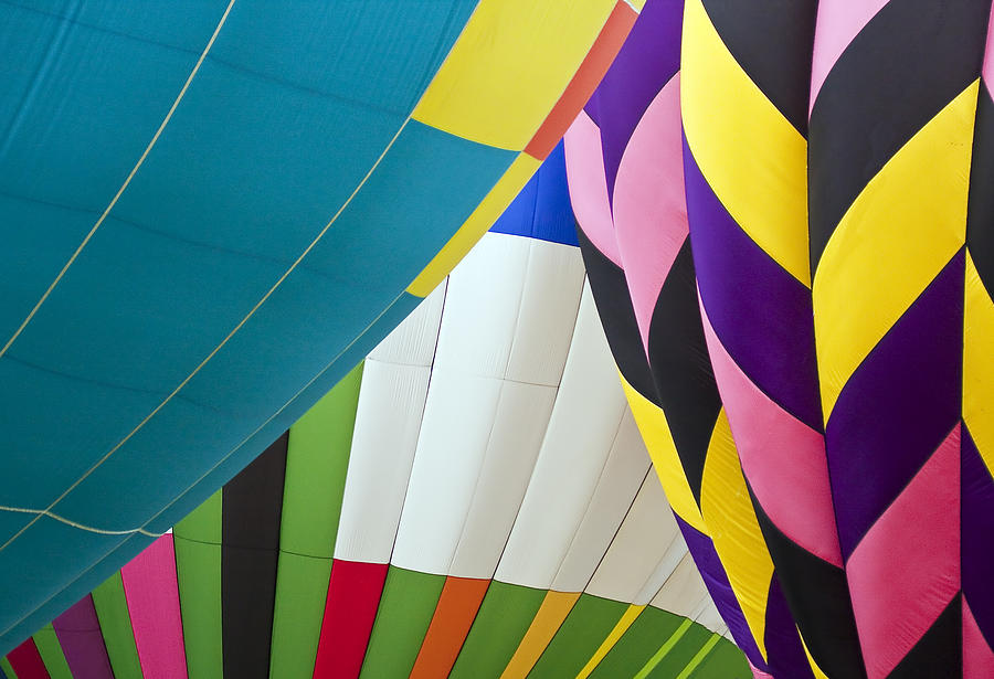 Transportation Photograph - Hot Air Balloon by Marcia Colelli