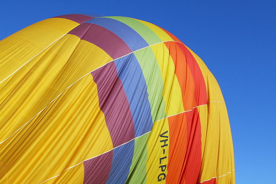 Hot-air Balloon Photograph - Hot Air Ballooning 2am-110966 by Andrew McInnes