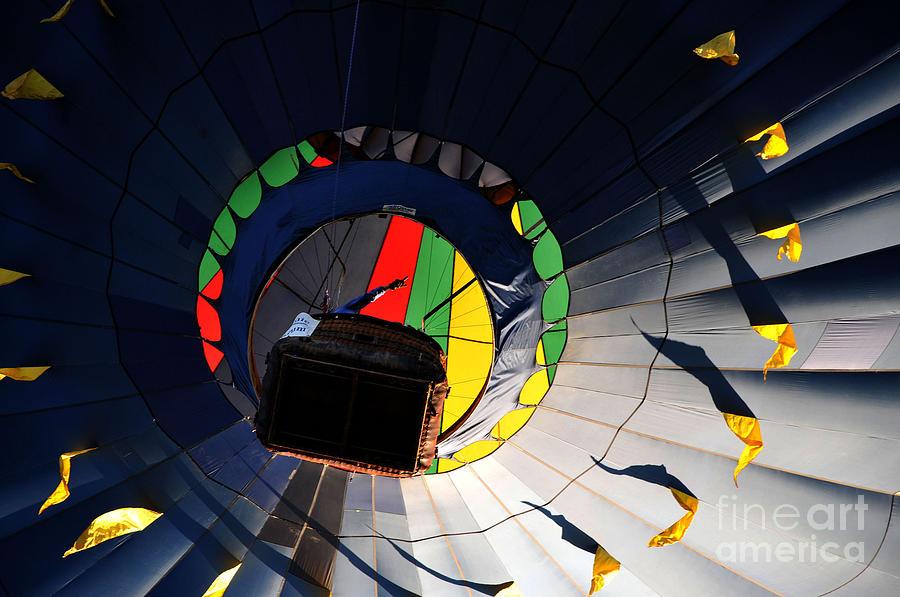 Hot Air Balloon Photograph - Hot Air Up by Leon Hollins III