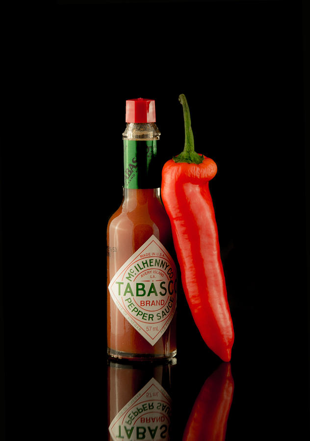 Chilli Photograph - Hot Chilli by Brendan Quinn