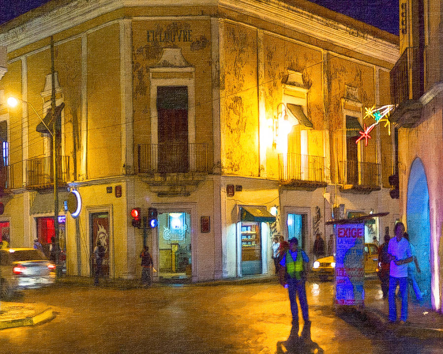 Merida Photograph - Hot Nights In The Yucatan by Mark E Tisdale