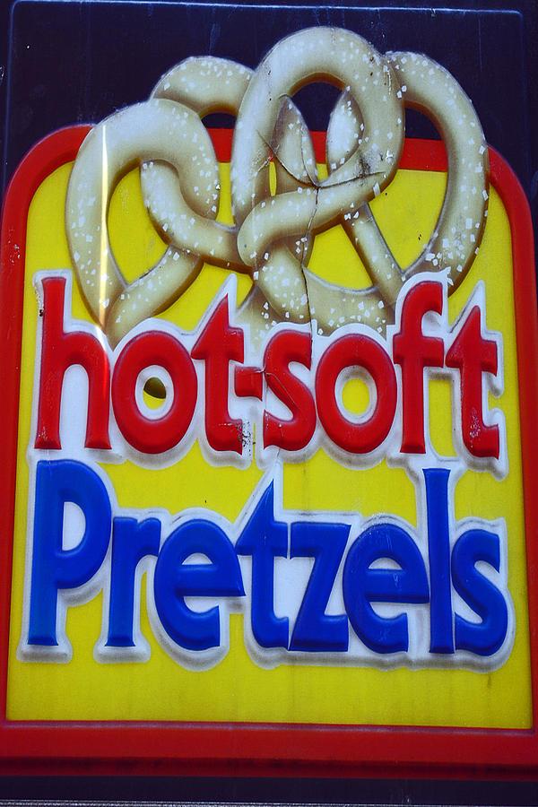 Fair Photograph - Hot Pretzels by Skip Willits