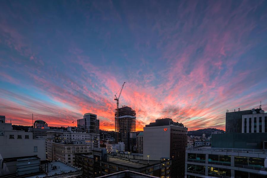 Portland Photograph - Hot Property by David Gn