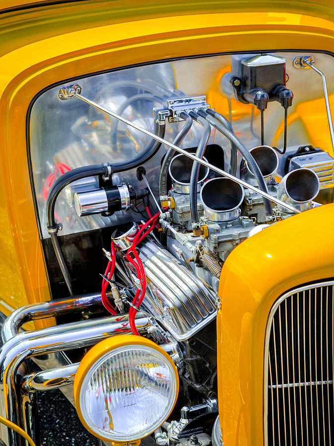 Car Photograph - Hot Rod by Bill Wakeley