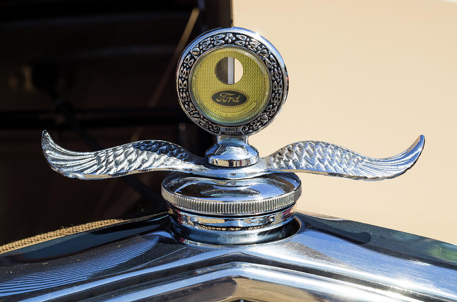 Horizontal Photograph - Hot Rod Car Instrument Detail by Panoramic Images